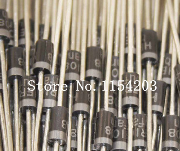 1000PCS HER108 Rectifier Diode 1A 1000V