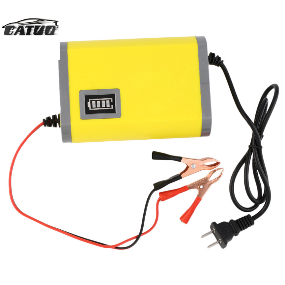 12V 6A Intelligent auto Car Battery Charger Voltage Rechargeable Battery Power Charger 220V AC for Motorcycle hot selling <br><br>Aliexpress