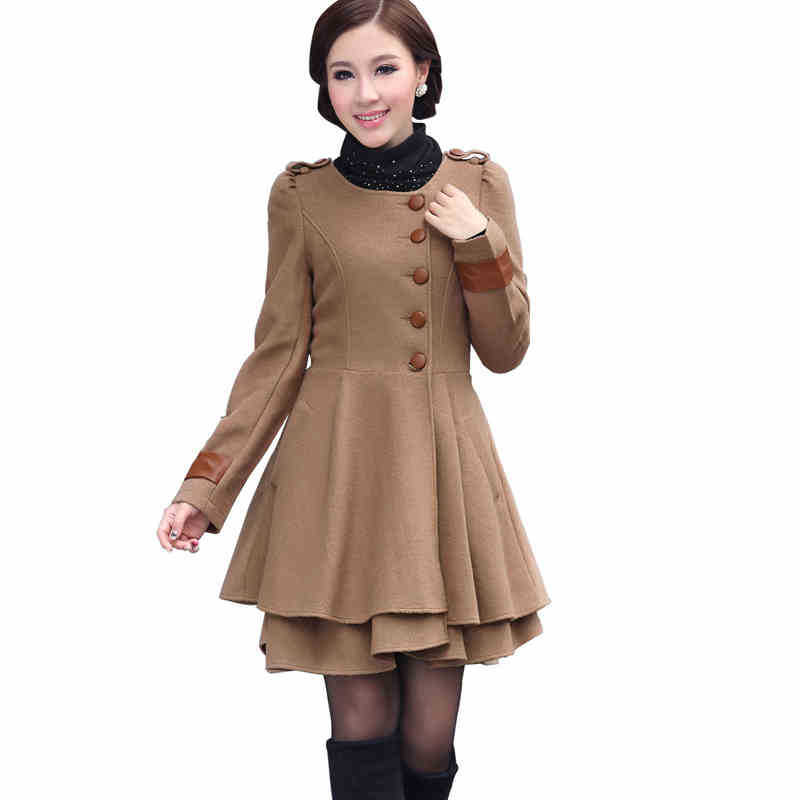 Cashmere Coat Winter 2016 New Wool Autumn And Winter Coat ...