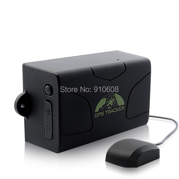 Waterproof Car Tracker TK104 Real-Time GPS GSM GPRS Tracking Device GPS Tracker TK104 60 days Standby(China (Mainland))