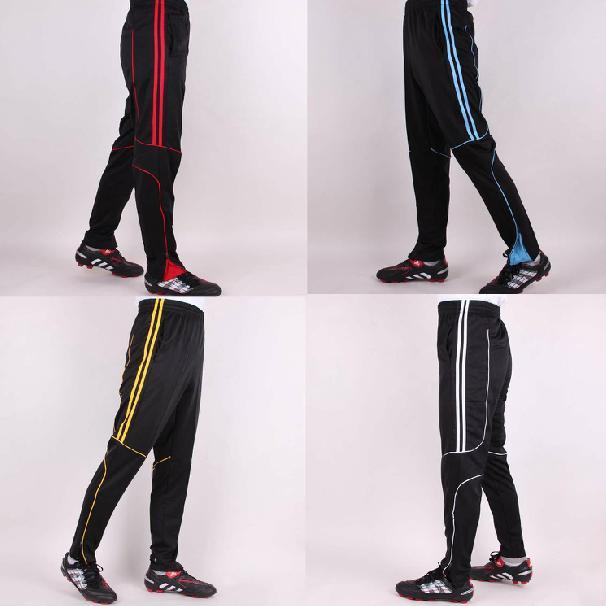 New warm kid/Youth/men Soccer Training Pants football pants sports trousers size 3XS-4XL select (refer the chart)(China (Mainland))