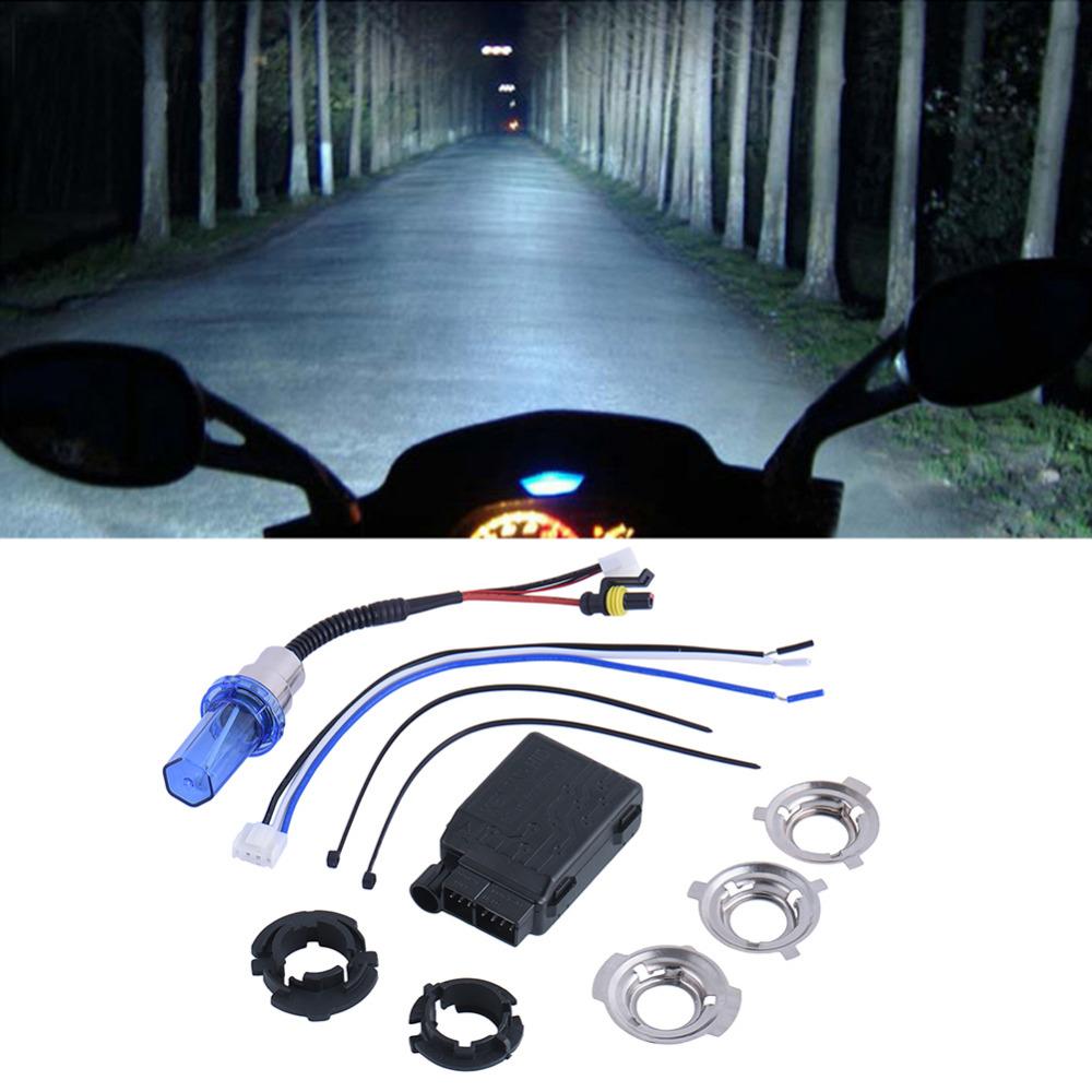 Hid Lights Motorcycle Headlight 12v 35w Motor Hid Kit Bike Motorcycle Motorcycle Battery Car HID Xenon Lamp H6 Lamp HID Lamp(China (Mainland))