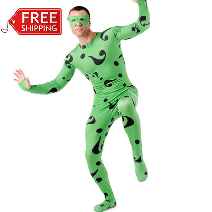 Riddler Costumes For Sale Adult Riddler Costume