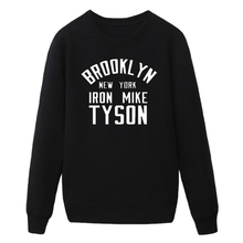 Brooklyn New York Iron Tyson Cashmere Sweatshirts Hip Hop Rock Hoodie Mens Tracksuits Men Sweatshirt MCT1009