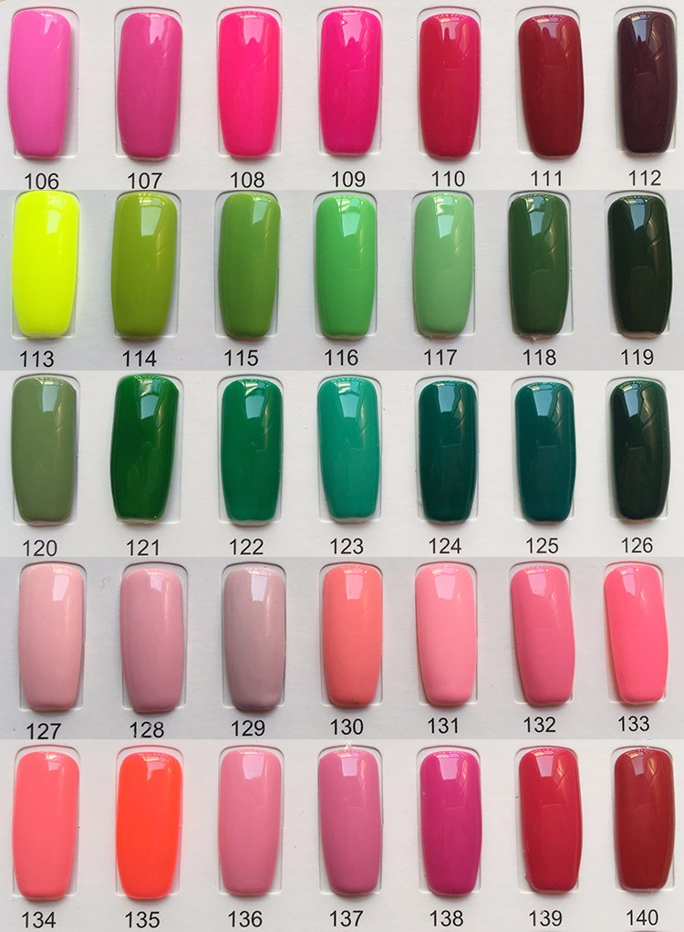 UV nail gel Sapphire Gel The Best Gel Polish 8.3ml Color Bottle Soak Off Nail Gel Polish15 Days Lasting 266 Brilliant Color