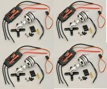 4X Emax XA2212 Brushless Motors 980KV & 4X 20A ESC Combo Quadcopter Multi-Rotor