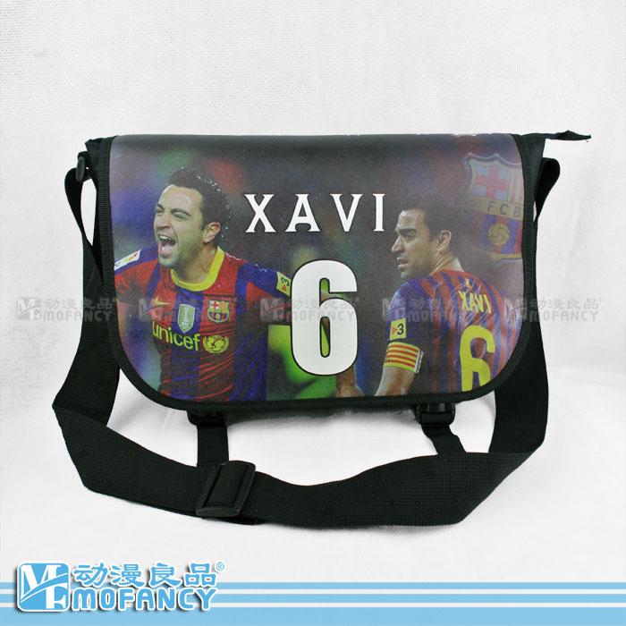 Football Style Boys Sport messenger bags pattern men's one shoulder school bag of messenger bag Handbags(China (Mainland))