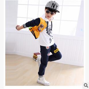 Fashion Explosion Boys Sets Vetement Enfant Garcon Sportwear Kids Tracksuit 3pcs Childrens Costume Aliexpress Clothes Suit E240<br><br>Aliexpress