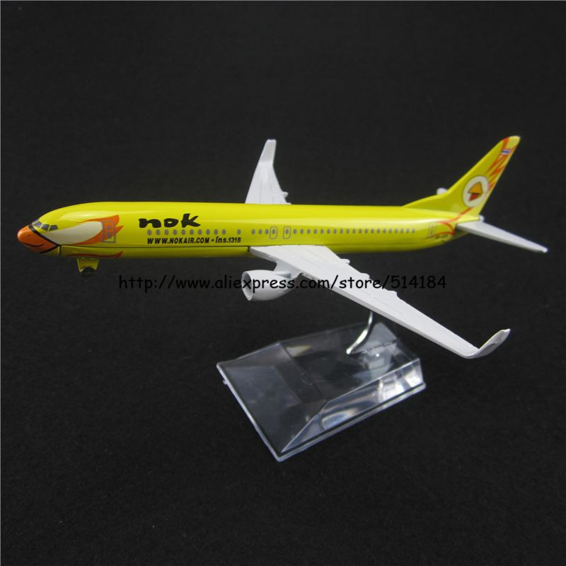 Игрушечная техника и Автомобили 16 NOK Boeing 737 B737 Airways w Nok Air B737 Airlines free shipping 10pcs 100