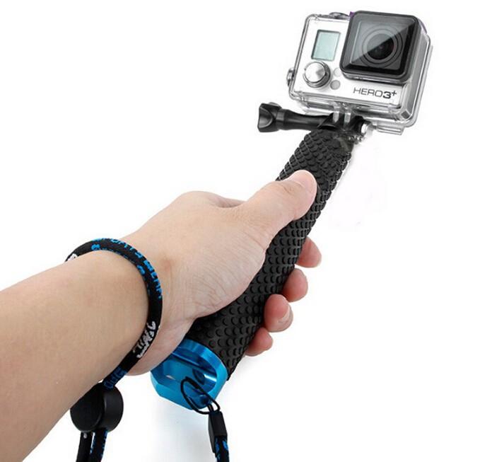 Штатив Magic selfie Gopro Gopro Hero 1 2 3 SJ4000 3 + 4 for gopro abs selfie arm tri directional adjustable mount base set for gopro 1 2 3 3 sj4000