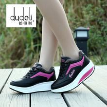 Dudeli Quần Áo Thun Giày Đi Bộ Giày Thoáng Khí Nữ Mocassin Femme Phong Cách Cổ Điển Sapatenis Zapatos Sperry(China)