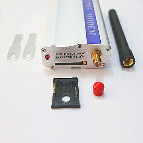 GSM Q24plus low cost RS232 modem starter kit AT command gsm modem(China (Mainland))