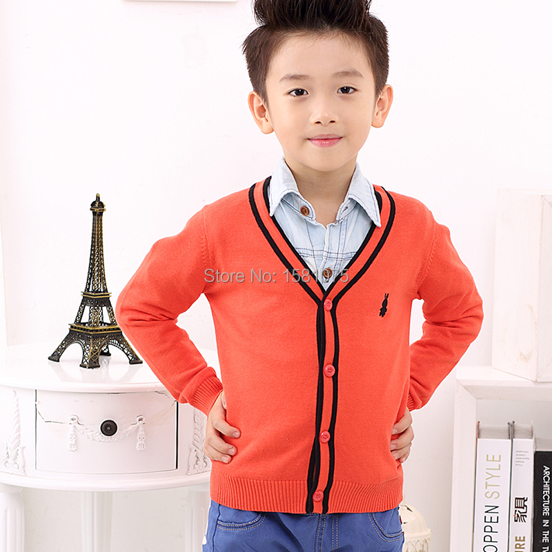 2015 fashion items polo sweater boy Children's Spring and Autumn coat Boys cardigan infantil cotton Sweaters Kids's baby sweater(China (Mainland))
