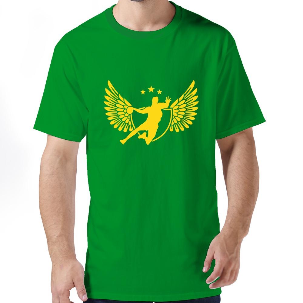 produto company fashionable clothing casual handball t shirt for gentleman 2015 Fashion