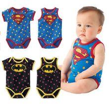 newborn baby boy clothes 215 Summer new born baby clothing Cute cartoon spiderman Superman baby boy