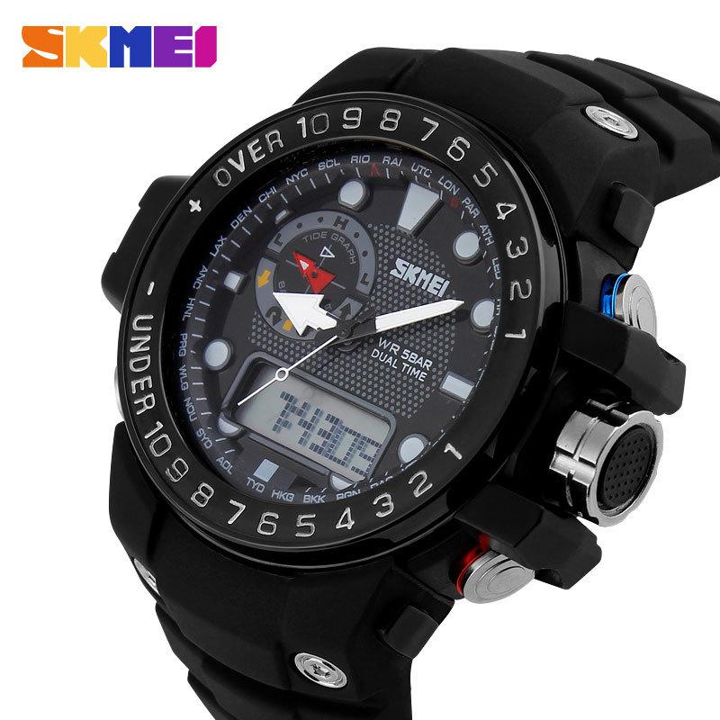 Luxury Watch 2015 New Men s Business Quartz Wristwatch Gifts Waterproof Military Men Sports Watches SKMEI