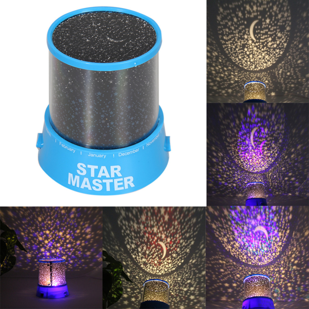 New Hot Colorful Star Sky Romantic Gift Cosmos Star Master Projector LED Starry Night Light Lamp Home Display Bedroom Toy Gift(China (Mainland))