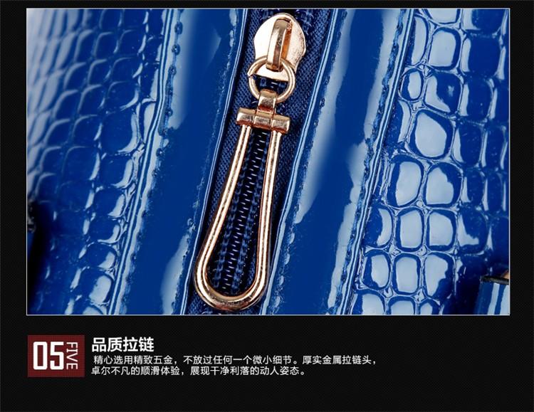 Bolsas Composite handbag Set Shoulder Bag Female Handbag  Women Leather Handbags Brand Women Bags Messenger Bag N100
