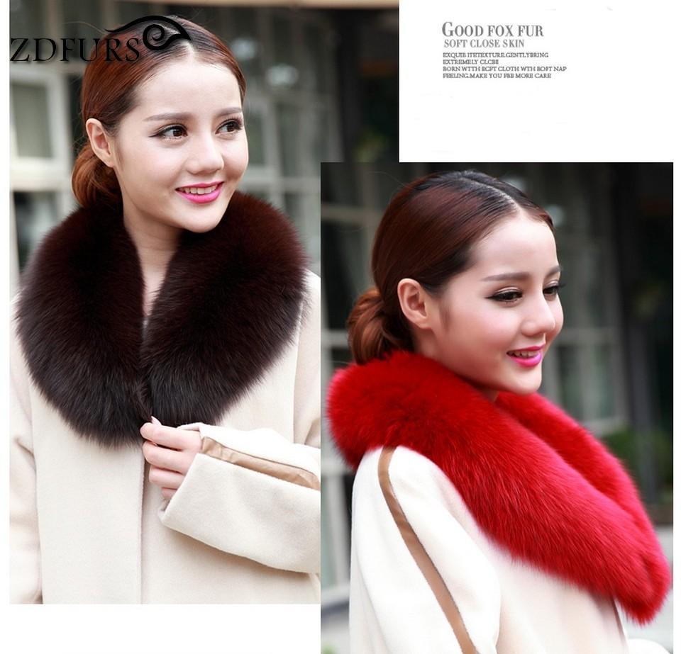 Women fox discount Collar 16