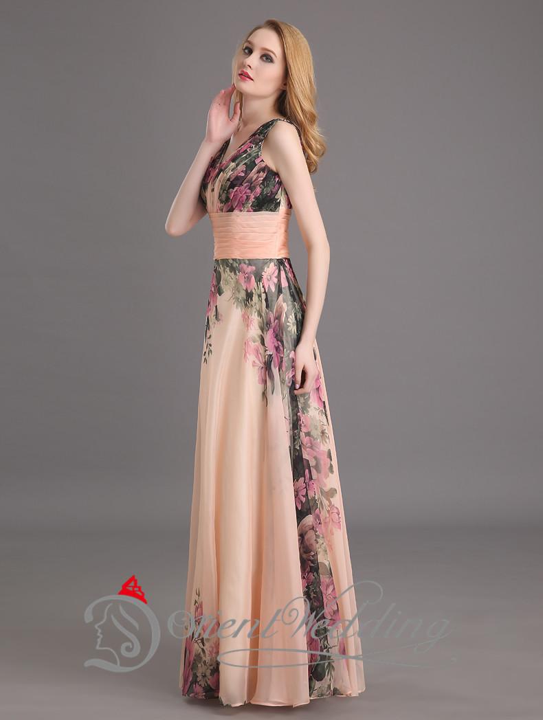 Элегантные платья в пол