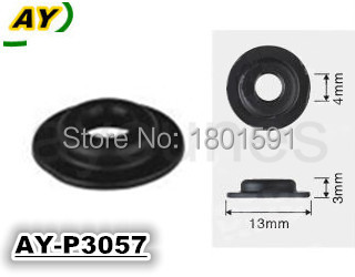 Free shipping! parts number 3057 top new material 500pieces auto parts fuel injector plastic part pintle cap size13*3*4mm(China (Mainland))