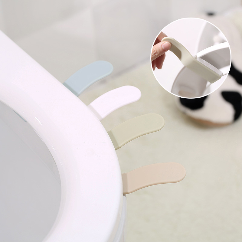 1PC Toilet Lid Lifting Device Sitting Commode Bathroom