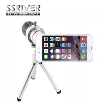 "Buy New Hot Sale iPhone 7 4.7"" 12X Optical Zoom Telescope Camera Lens+Tripod +Back Case Cover Phone 12X Zoom Lens for $18.26 in AliExpress store"