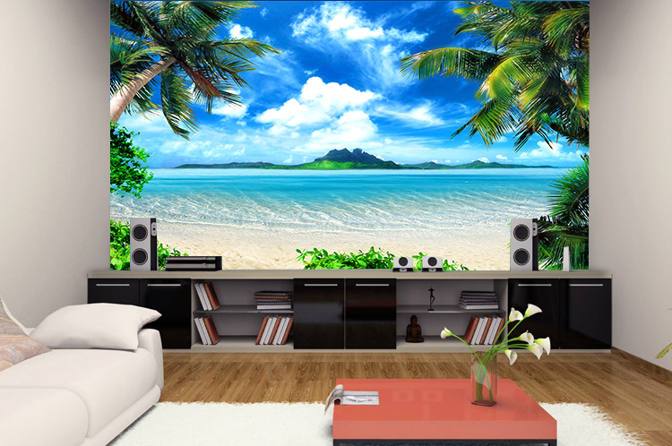 3d stereoscopic large mural wallpaper background wallpaper the living  room TV video wall painting sofa bedroom. wallpaper picture Picture   More Detailed Picture about 3d
