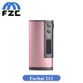 Pink Color Original Sigelei Fuchai 213 Box Mod 10w 213W 0 1 3 0ohm Fuchai 213w