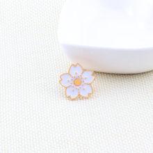 Fashion Buah Cherry Nanas Bunga Amplop Rainbow Kartun Pin Bros Aksesoris Pakaian Enamel Pin Perhiasan Pecinta Hadiah(China)