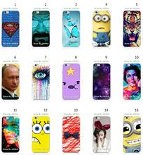 Mobile Phone Case Hot 1pc Superman Logo Butterfly Hybrid Design Protective White Hard Case For Iphone 6 6S Free Shipping