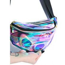 Multifunctional Fanny Bag Casual Waist Pack PVC Bag for Men women Outdoor travel sport Phone pockets waterproof belt bag