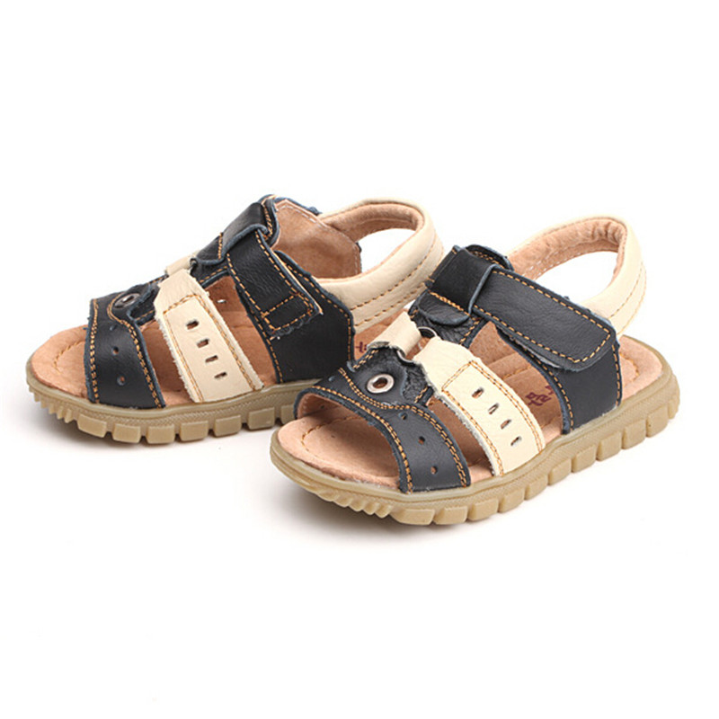 Boys Summer Sandals Genuine Leather Fashion casual baby