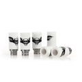 Sailing vape 510 ceramic drip tips electronic cigarette accessories Skull Style Stainless core for 510 tank