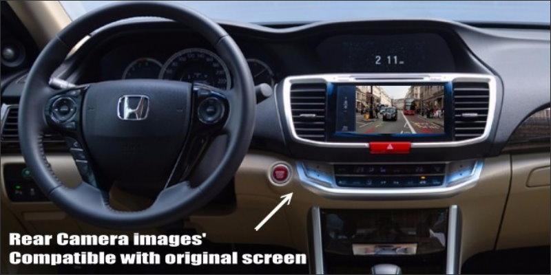 Honda accord 2.4l rear screen