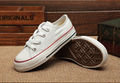 Family wear canvas shoes Boys Girls Children Solid white color Canvas Shoes Fashion casual low white