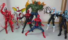 Amazing Spider Man Series Action Figures jouet spiderman Toys sphero Green Goblin Spiderman Figures Anime SuperHero 7pcs/set