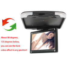 13 Inches Car Monitor LCD Digital Screen Car Roof Mounted Monitor Car Ceiling Monitor Car accessories 2016 Hot Sale(China (Mainland))