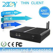 Low price latest mini pc thin client pc win7 X29-i7 4500u 1.8GHZ INTEL Dual core 4gb ram 8gb ssd(China (Mainland))