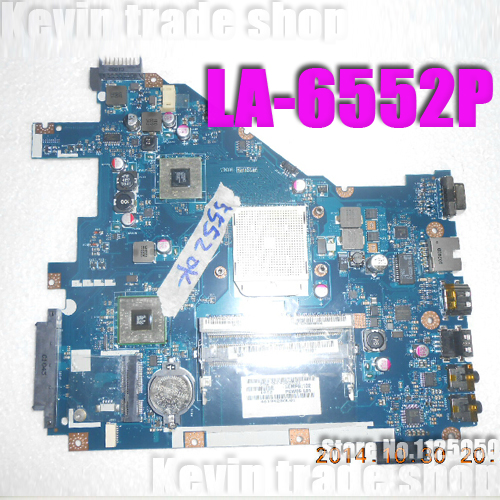 free shipping MB.R4602.001 LA-6552P for acer aspire 5552 motherboard MBR4602001 AMD Socket s1 DDR3 full Tested(China (Mainland))