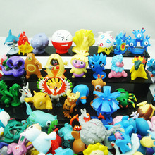 2016 New 12 Pieces/A Lot Action Figures Cute Monster Mini Toys Best Random 6 CM Gift Kids Birthday More Style Hot Sale Gifts