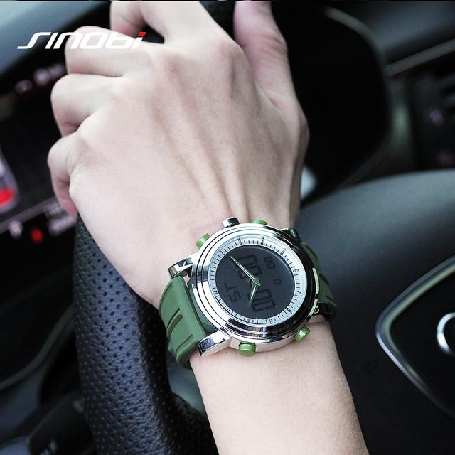 Zegarek SINOBI męski sportowy sylikonowa opaska różne kolory