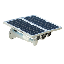 New Generation Solar Power WIFI ONVIF IP Camera with 80m Night Vision & Efficient Thin-film Solar Panels with Motion Detection