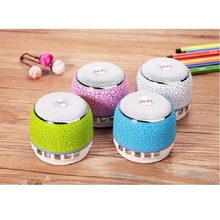 Mini A7 LED Bluetooth Speaker USB Cute Wireless Portable Stereo Outdoor Sport MP3 support TF card For Phone&PC 90Hz-20KHz