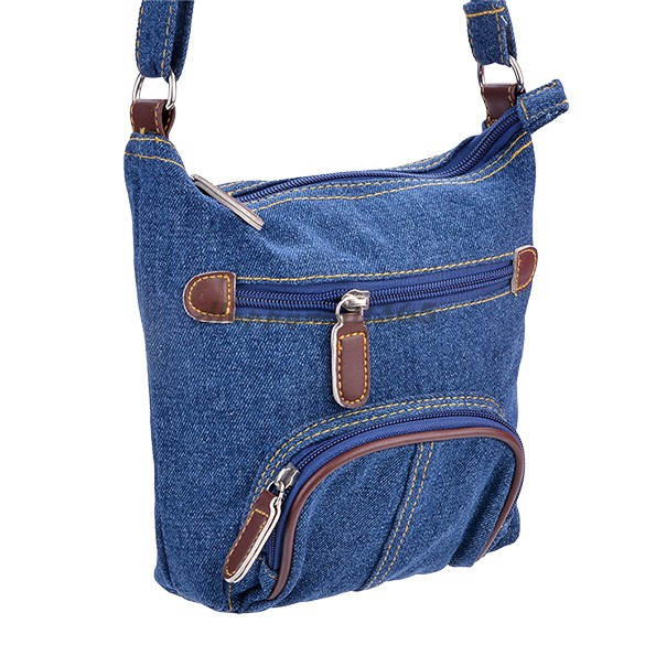 Women Denim Messenger Bags Mini Small Shoulder Satchels ...