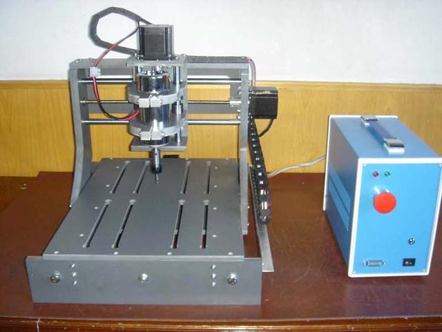 2030 Mini Cnc Milling Machine 4 Axis Cnc Machine Nema 23