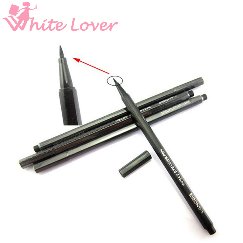 NEW Waterproof Beauty Makeup Cosmetic Liquid Eye Liner Eyeliner Pen Pencil Black #1004 - White Lover store