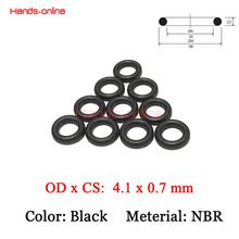 Buy 10pcs/lot Rubber sealing CS 0.7mm NBR Orings OD 4.1x0.7mm W O Ring O-rings Oring for $1.45 in AliExpress store