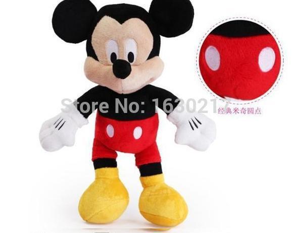 Free Shipping 1pcs kids Micky Mouse Plush Stuffed Animals Toys,28cm Miki plush mickey pelucia minnie Dolls For gifts(China (Mainland))