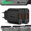 Aukey Quick Charge 3 0 Wall Charger EU US USB Charger Mini Auto Travel Charger For